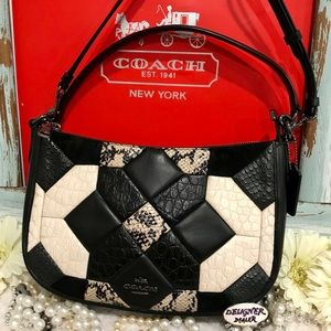 COACH Chelsea Canyon Quilt Leather Crossbody38296
